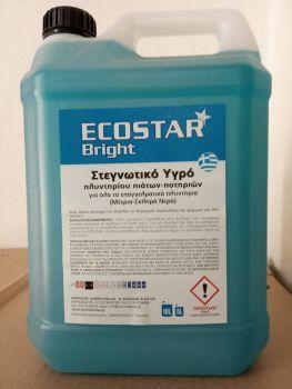 Ecostar Bright στεγνωτικό πλυντηρίου πιάτων - ποτηριών 5 lt
