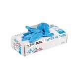 Γάντια νιτριλίου μπλε 100 τεμ