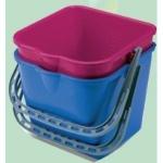 Πλαστικός κουβάς 6 lt για καρότσι καθαρισμού