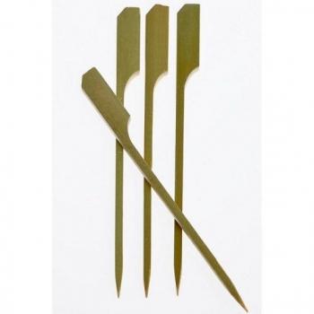 Καλαμάκι ξύλινο σε σχέδιο κουπί 12 cm