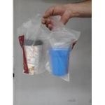 Διπλό σακουλάκι μεταφοράς ποτηριών  100 τεμάχια
