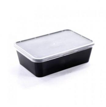 Σκεύος μικροκυμάτων ( microwave) με καπάκι 750ml