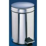 Κάδος αποριμμάτων inox με πεντάλ 5lt DELTA CLEAN